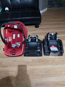 Coquille Peg Perego + 2 bases