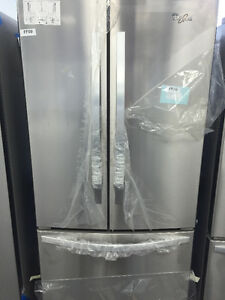 Réfrigérateur Whirlpool - Stainless - Déballé: économisez $$$
