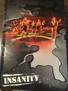 INSANITY HOME WORKOUT DVDs