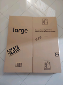 StorePAK Large Storage Cardboard Boxes 5 pack House Removal Moving