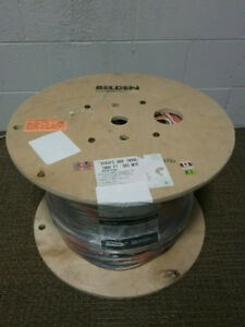 Belden 658AFS CMP ACCESS CONTROL BANANA PEEL CABLE 1000ft SPOOL.
