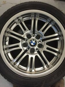 "BMW ""M3"" winter tires and rims located in Edmonton"