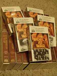 Betamax tapes: The World at War (first 25 of 26 vol.)