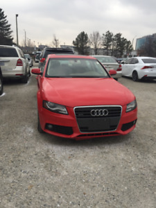 2011 Audi A4 Quattro No Accidents No Claims Fully Loaded!!!