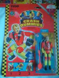 Crash Dummies Sealed Action Figures