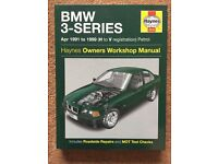 Haynes BMW 3 series E36 manual