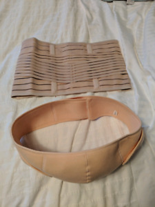 Pregnancy support belt and postpartum belly band