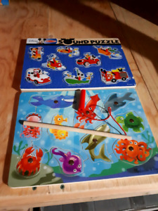 Toys(puzzles, drum,sorter and more)