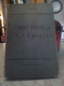 First book in old english 1903