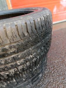 2 pneus 225/45r17 nokian ete