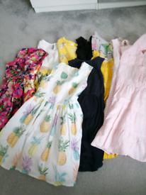 Massive girls summer clothes bundle age 4-5