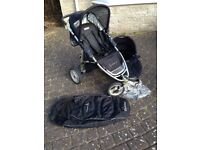 Quinny Speedi SX Pushchair and Carrycot