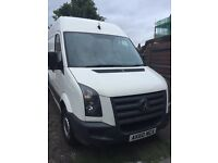 Vw crafter lwb 60 plate