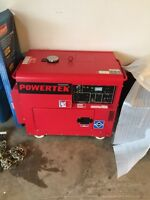 Brand new diesel electric start generator