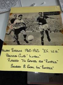 ALLAN BROWN PORTSMOUTH FC
