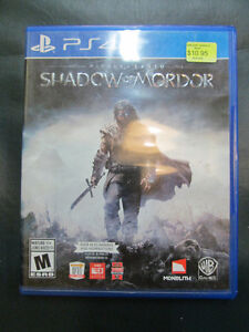 PLAYSTATION 4 GAMES FOR SALE AT NEARLY NEW PORT HOPE Peterborough Peterborough Area image 1