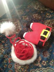 2 Christmas hats