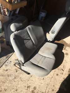 Seats from a 2007 Dodge 2500