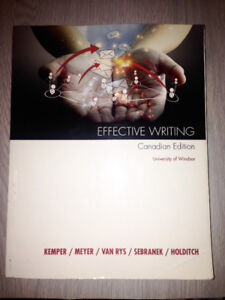 Effective Writing Canadian Edition- 01-150 - Half price