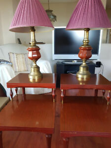 Coffee Tables & Lamps