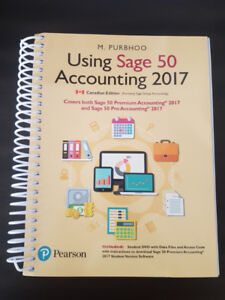 Using Sage 50 Accounting 2017 - Mint Condition with code! - $140