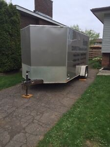 2012 Stealth 7x14 enclosed trailer
