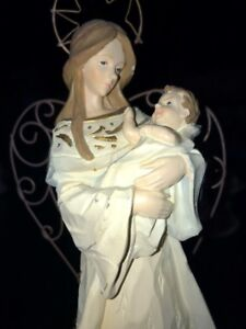 Mother and Baby Figurine by Carlton
