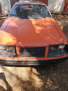 1983 ford mustang gs foxbody
