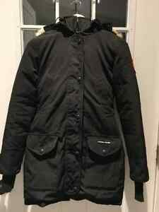 AUTHENTIC CANADA GOOSE BLACK TRILLIUM PARKA SIZE XXS London Ontario image 1