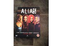 Alias DVD set series 1-5