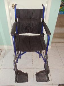 wheelchair transport folder