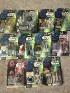 Star Wars figure lot