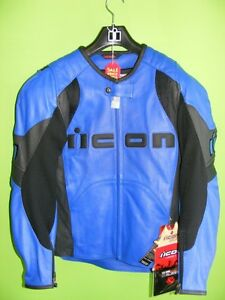 ICON - Leather Jacket - Small - NEW at RE-GEAR