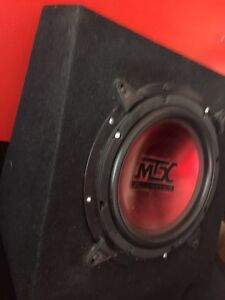 ^** MTX SLIM MOUNT PICK UP TRUCK BOX AND SUBWOOFER Kitchener / Waterloo Kitchener Area image 1