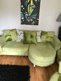 3 piece large sofa