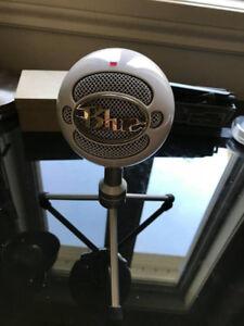 Microphone Snowball de marque Blue
