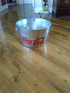 Vintage Coca Cola Metal Bucket