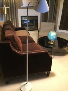 Restoration Hardware Brass and Marble Floor Lamp ONLY$135!