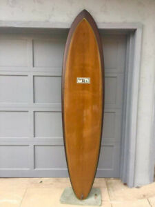 Surfboard Jeff McCullam 7'6 quad mid length