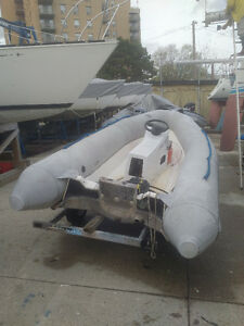 Used Zodiac RIB - Includes Trailer (no engine)