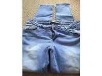 Skinny jeans size 14