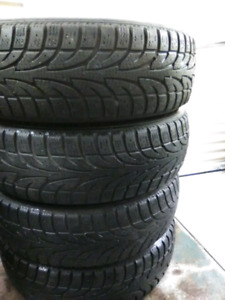 185 70 14 4 tires hiver mike 438 920 7116