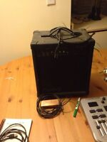 Dean markly 40 watt amp with acoustic pick up