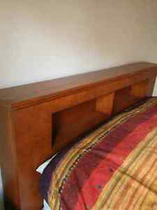 Headboard and night tables
