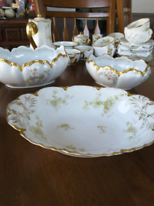 Vintage Limoge Dishes from Haviland & co France