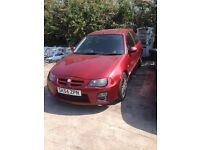 MG ZR 1.4 SERVICE HISTORY LONG MOT