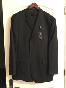 CHAPS Black Suit, Men's Large, Brand New with Tags, $120