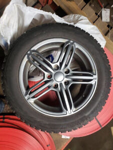 "16"" Bridgestone Blizzak Winter Tires On Rims"