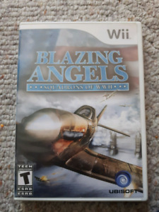 Wii Blazing Angels**Squadrons of WW2**