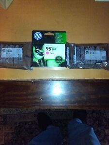 HP 951XL ink cartridges